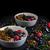 chocolade · pudding · vruchten · glas · kom · gezondheid - stockfoto © peteer