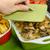 champignons · geserveerd · voedsel · olie - stockfoto © peteer