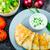 poulet · grillé · salsa · fromages · légumes - photo stock © peteer