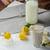 eigengemaakt · banaan · smoothie · citroenen · kruiden · organisch - stockfoto © Peteer