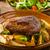 vesepecsenye · steak · pörkölt · krumpli · gombák · hús - stock fotó © peteer