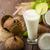 kokosnoot · splash · boom · achtergrond · drinken - stockfoto © peteer