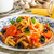 pasta with olives tomatoes and basil stock photo © peteer