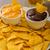 çanak · salsa · tortilla · cips · ahşap · masa · cam - stok fotoğraf © peteer