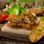サラダ · 新鮮な · 緑 · 食品 · 葉 · 背景 - ストックフォト © peteer