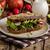 yemek · temizlemek · vejetaryen · tost · sebze · sağlıklı - stok fotoğraf © peteer