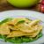 домашний · Пельмени · шпинат · сыра · здорового - Сток-фото © peteer