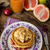 eigengemaakt · pannenkoeken · vruchten · room · bes · gebakken - stockfoto © peteer