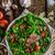 新鮮な · サラダ · ベーコン · パン · 甘い - ストックフォト © Peteer