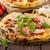 pizza · pomodorini · tavolo · in · legno · pomodoro - foto d'archivio © peteer