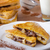 french toast stuffed with chocolate and banana stock photo © peteer