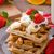 chocolate · batatas · fritas · frutas · bananas · morangos · leite - foto stock © Peteer