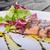 лосося · сокращение · бальзамического · уксуса · сахар · свежие · Салат - Сток-фото © Peteer