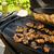 pollo · tavolo · da · picnic · maccheroni · insalata · estate - foto d'archivio © peteer