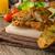 saláta · vesepecsenye · csirkesaláta · tyúk · reggeli · zöldségek - stock fotó © peteer