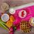 saine · déjeuner · fraise · chocolat · jar - photo stock © peteer