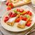 peynir · krep · taze · taze · meyve · nane · gıda - stok fotoğraf © peteer