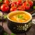 czerwony · papryka · pomidory · puchar · ciemne · tle - zdjęcia stock © peteer