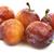 friss · érett · szilva · fehér · gyümölcs · nyár - stock fotó © peter_zijlstra