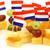 голландский · сыра · флаг · продовольствие · вечеринка - Сток-фото © peter_zijlstra
