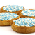 rusks with white and blue anise seed sprinkles  stock photo © peter_zijlstra
