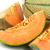 частей · дыня · белый · продовольствие · оранжевый · десерта - Сток-фото © peter_zijlstra