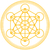 Metatron Cube Gold stock photo © PeterHermesFurian