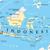Délkelet-Ázsia · politikai · térkép · földgömb · illusztráció · izolált - stock fotó © peterhermesfurian