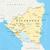 ホンジュラス · 政治的 · 地図 · 重要 · 都市 - ストックフォト © peterhermesfurian