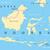 malaysia and indonesia political map stock photo © peterhermesfurian