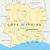Берег · Слоновой · Кости · стране · карта · белый · побережье · изолированный - Сток-фото © peterhermesfurian