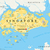 singapore political map stock photo © peterhermesfurian