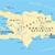 Hispaniola Political Map with Haiti and Dominican Republic stock photo © PeterHermesFurian