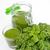 zöld · smoothie · üveg · nyitva · bögre · organikus · spenót - stock fotó © peterhermesfurian