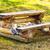 hely · piknik · piknik · asztal · tökéletes · elvesz · család - stock fotó © petrmalyshev