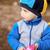 baby · chłopca · gry · jesienią · parku · cute - zdjęcia stock © petrmalyshev