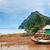 Taylandlı · kıyı · tekne · Asya · Tayland · plaj - stok fotoğraf © PetrMalyshev