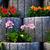stone flowerbed wall stock photo © petrmalyshev