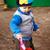 boy playing in sandbox stock photo © petrmalyshev
