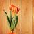 zöld · virágok · váza · víz · tulipán · üveg - stock fotó © petrmalyshev