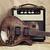 velho · guitarra · preto · e · branco · foto · estilo · retro · fundo - foto stock © petrmalyshev