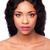 mulher · peruca · cabelos · cacheados · belo · mulher · jovem · sorrir - foto stock © phakimata