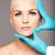 arts · handen · handschoenen · aanraken · vrouw · gezicht · huid - stockfoto © phakimata