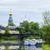 アーキテクチャ · 市 · 川 · ボート · 鐘 · 塔 - ストックフォト © Phantom1311