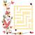 labirintus · 25 · katicabogarak · virágok · virág · tavasz - stock fotó © phantom1311