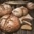peças · pão · conselho · raso · campo - foto stock © Phantom1311
