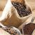 chicchi · di · caffè · raccogliere · bag · tavola - foto d'archivio © phbcz