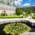 garden of cistercian monastery in Zwettl, Lower Austria, Austria stock photo © phbcz