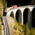 train on rhaetian railway landwasserviadukt canton graubunden stock photo © phbcz