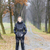 立って · 女性 · 着用 · 黒 · 服 · ブーツ - ストックフォト © phbcz